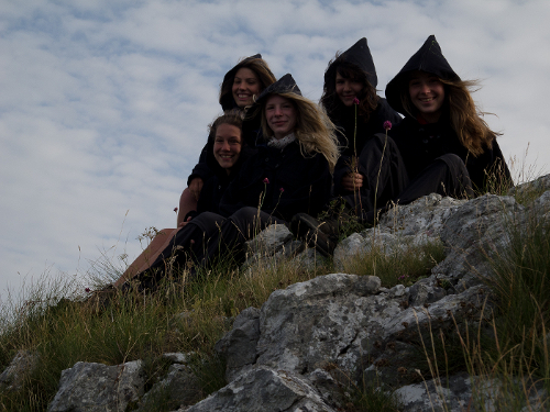 Die Galateas auf dem Velatea-Hajk in Montenegro